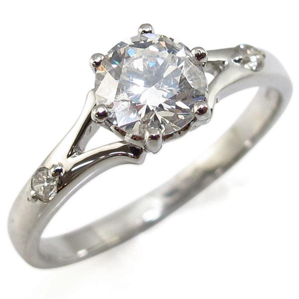 【P5~10倍】29日~ 婚約指輪・プラチナ・リング・ダイヤモンド・大粒・エンゲージリング