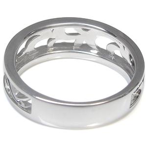 6 25限定 ポイント5倍 メンズ リング アクアマリンサンタマリア メンズリング トライバル 10金 指輪WID2EHYe9b