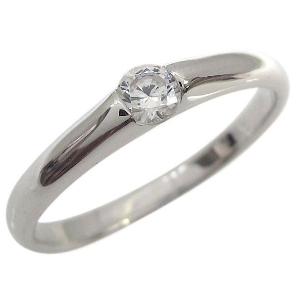 9日20時~ ダイヤモンド ピンキーリング 10金 指輪 ミディリング 一粒