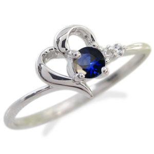 【10%OFF】4日20時~ プラチナ 指輪 ハート ピンキーリング 誕生石 リング