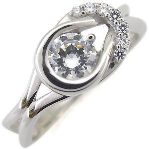 26日1:59迄 鑑定書付き プラチナ 指輪 リング ダイヤモンド SIクラス 0.5ct 一粒 リング