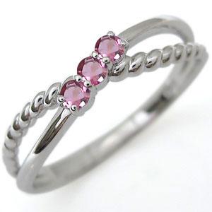 【10%OFF】4日20時~ ファランジリング ピンクトルマリン リング プラチナ 指輪 ピンキーリング