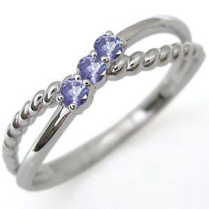 【10%OFF】4日20時~ ファランジリング タンザナイト リング プラチナ 指輪 ピンキーリング
