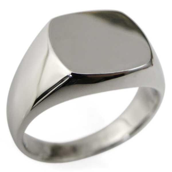 送料無料 男の印台リング メンズ 10金 シンプル 指輪 10金・地金・印台リング・メンズ・指輪
