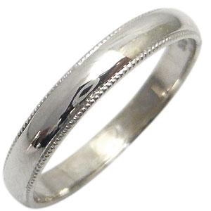 結婚指輪・シンプル・18金・彫金・甲丸リング・マリッジリング・