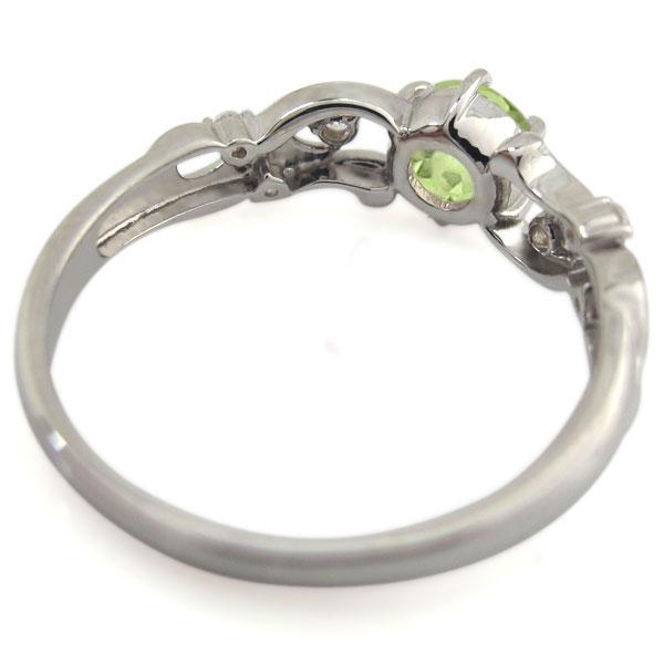 誕生石 唐草 アラベスク 婚約指輪 エンゲージリング 10金8n0wOPkX
