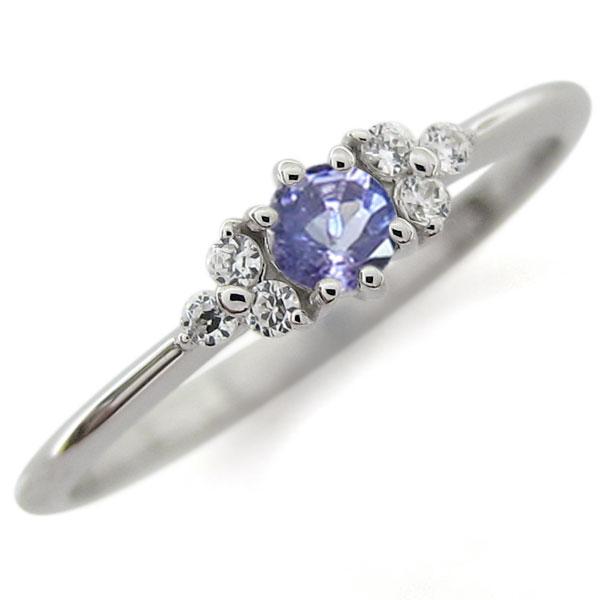 プラチナ ピンキー 指輪キー 指輪 ファランジリング ファランジリング タンザナイト