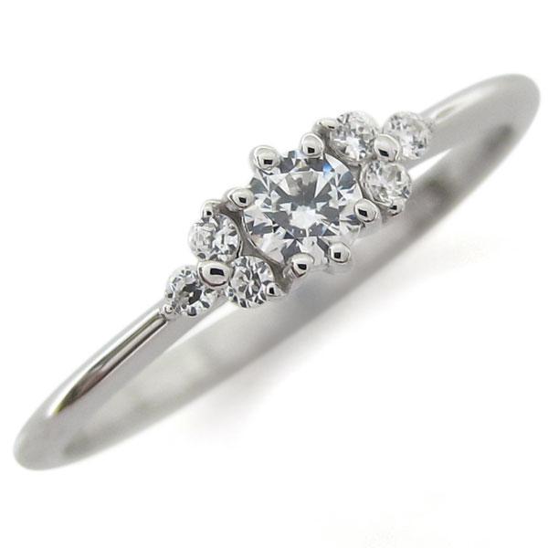 プラチナ ダイヤモンド ピンキー ファランジリング 指輪キー ファランジリング 指輪