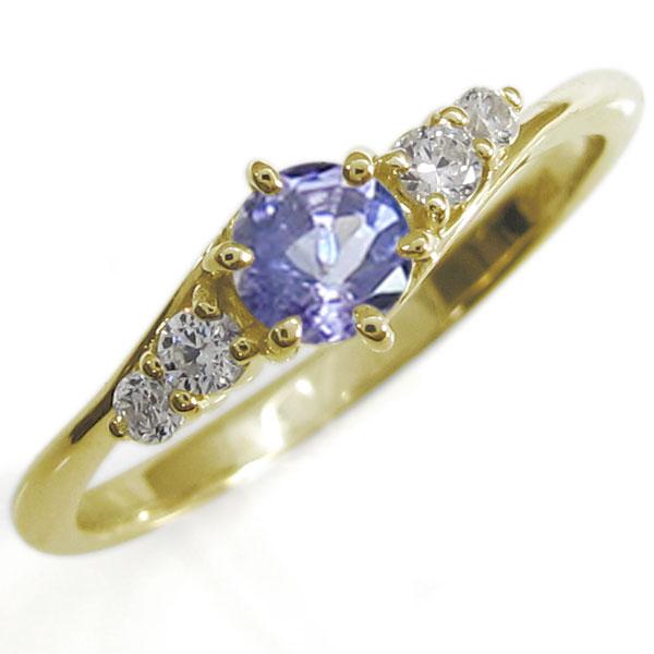 魅力的な価格 【10%OFF】4日20時~ タンザナイト 指輪 上品 シンプルリング リング 上品 18金 リング, ノボリベツシ:42d4b333 --- bober-stom.ru