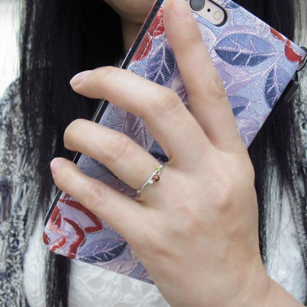 ガーネットリング・シンプルリング・指輪・エレガント・10金nOk08wP