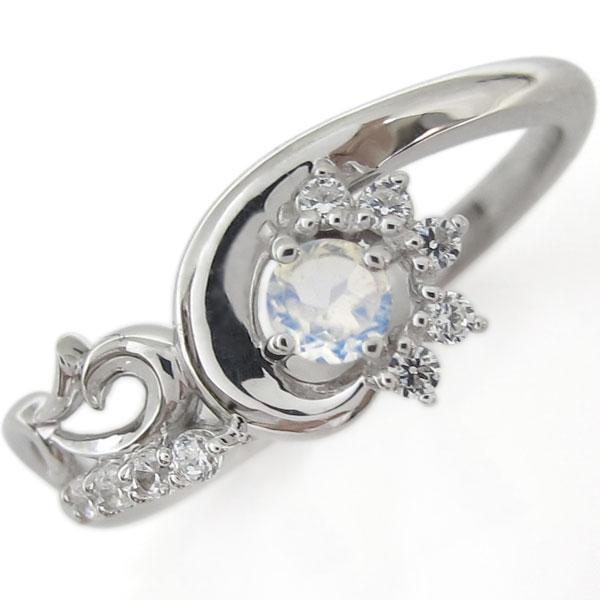 【10%OFF】4日20時~ プラチナリング・メモリアルリング・結婚10周年・ロイヤルブルームーンストーン・指輪