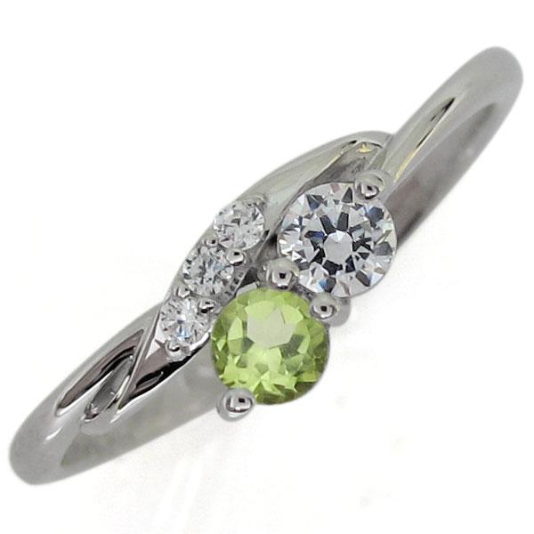 プラチナリング ダイヤモンド リング シンプル 指輪