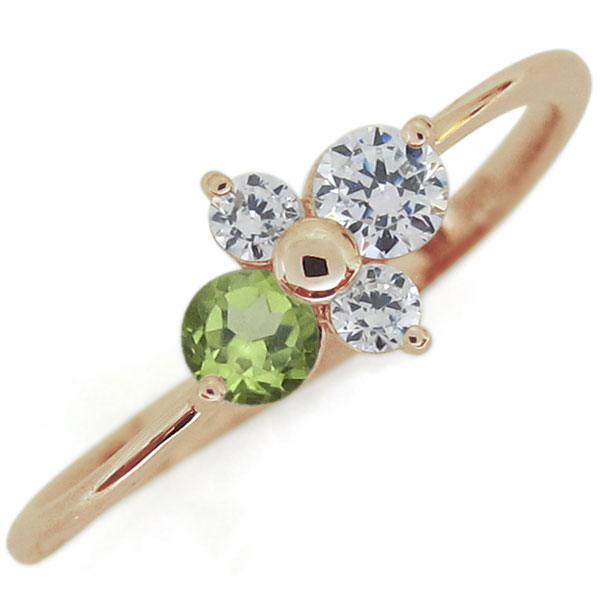 【10%OFFクーポン&P5倍】23日~ダイヤモンド 指輪 シンプルリング エレガント リング 10金