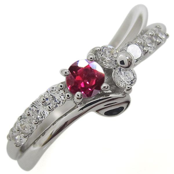 【即納!最大半額!】 プラチナリング 結婚10周年 ルビー 指輪 V字 メモリアルリング, E-WestClub 857b99d7