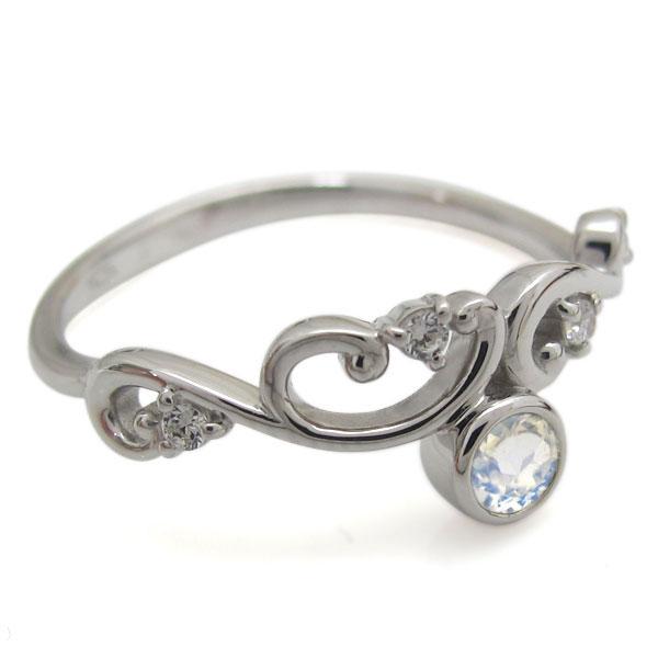 10金 ロイヤルブルームーンストーンリング レディース 婚約指輪 アラベスク 母の日 プレゼントe9EHIWDY2