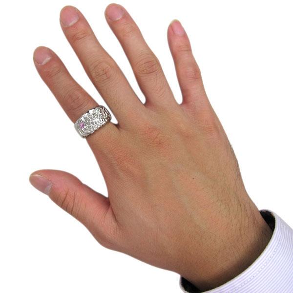 メンズ・リング・ゴールド・18金・指輪・ピンクサファイア・K18・サソリ・蠍・スコーピオンdxBQrCoEeW