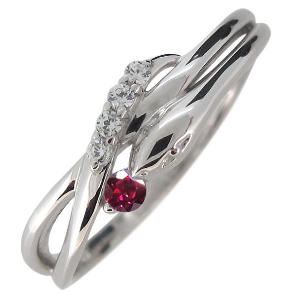 プラチナ 指輪 レディース へび 蛇 選べる誕生石 スネークリング