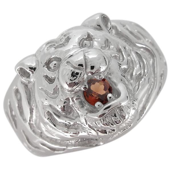 世界有名な プラチナ 指輪 タイガー メンズ タイガー 虎 1月誕生石 プラチナ ガーネット ガーネット リング, 牧園町:9bcf75fa --- mediakaand.com