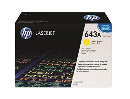 HP ( ヒューレットパッカード ) 643A 純正 LaserJet トナー カートリッジ (イエロー) CLJ4700用 ( Q5952A ) プリンター プリンタ オプション