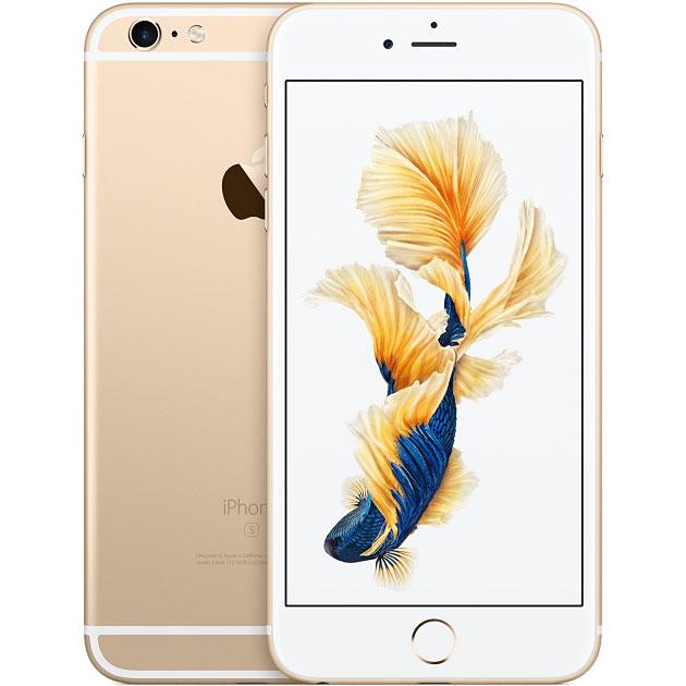 アップル iPhone 6s Plus SIMフリー 64GB 整備済品 ゴールド