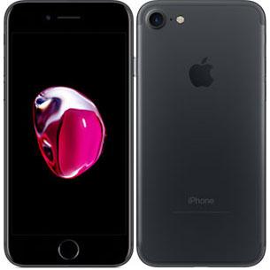 アップル iPhone 7 SIMフリー A1660 256GB ブラック 【厳選中古】