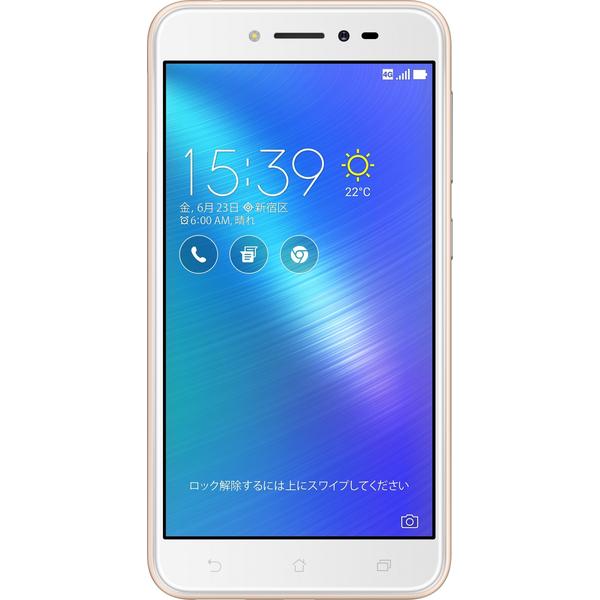 ASUS(エイスース) Zenfone Live SIMフリースマートフォン シャンパンゴールド ( ZB501KL-GD16 ) Android オクタコア 5インチ メモリ 2GB ストレージ 16GB