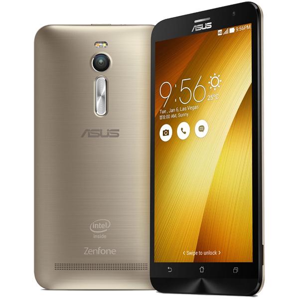 ASUS ( エイスース ) ZenFone 2 SIMフリー ゴールド ( ZE551ML-GD64S4 ) Android Atom Quad Core Z3580 5.5インチ メモリ 4GB ストレージ 64GB スマホ スマートフォン 本体
