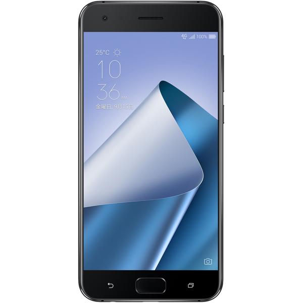 ASUS ( エイスース ) ZenFone 4 Pro SIMフリー ピュアブラック ( ZS551KL-BK128S6 ) Android Snapdragon 835 オクタコア 5.5インチ メモリ 6GB ストレージ 128GB スマホ スマートフォン 本体