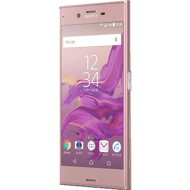 SONY( ソニー ) Xperia XZ SO-01J ディープピンク Android 6.0 クアッドコア 5.2インチ SIMロック解除済み スマートフォン 【厳選中古】