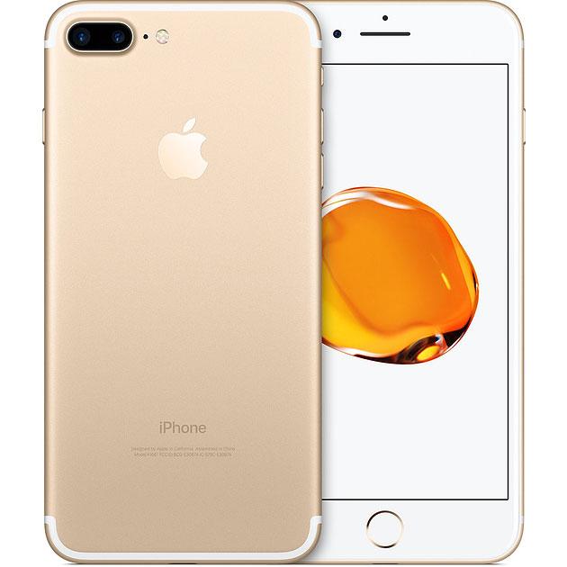 アップル iPhone7 Plus SIMフリー 版 A1785 128GB ゴールド ( MN6H2J/A ) 整備済品 スマホ スマートフォン 本体 Apple テレワーク 在宅勤務 在宅ワーク に