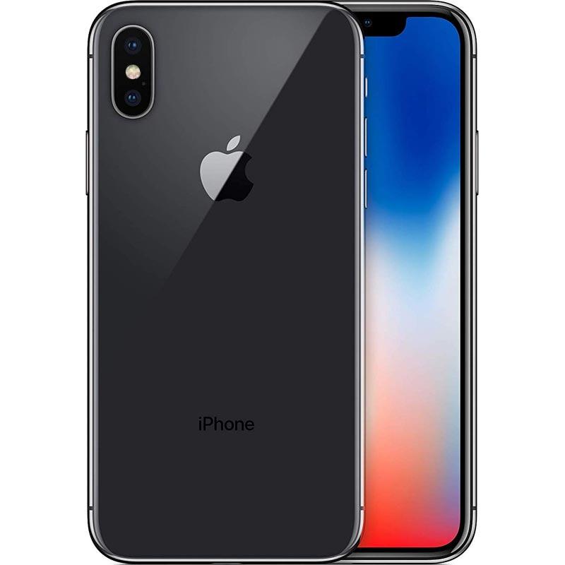 アップル iPhoneX SIMフリー 版 64GB スペースグレイ 整備済品 スマホ スマートフォン 本体 Apple テレワーク 在宅勤務 在宅ワーク に