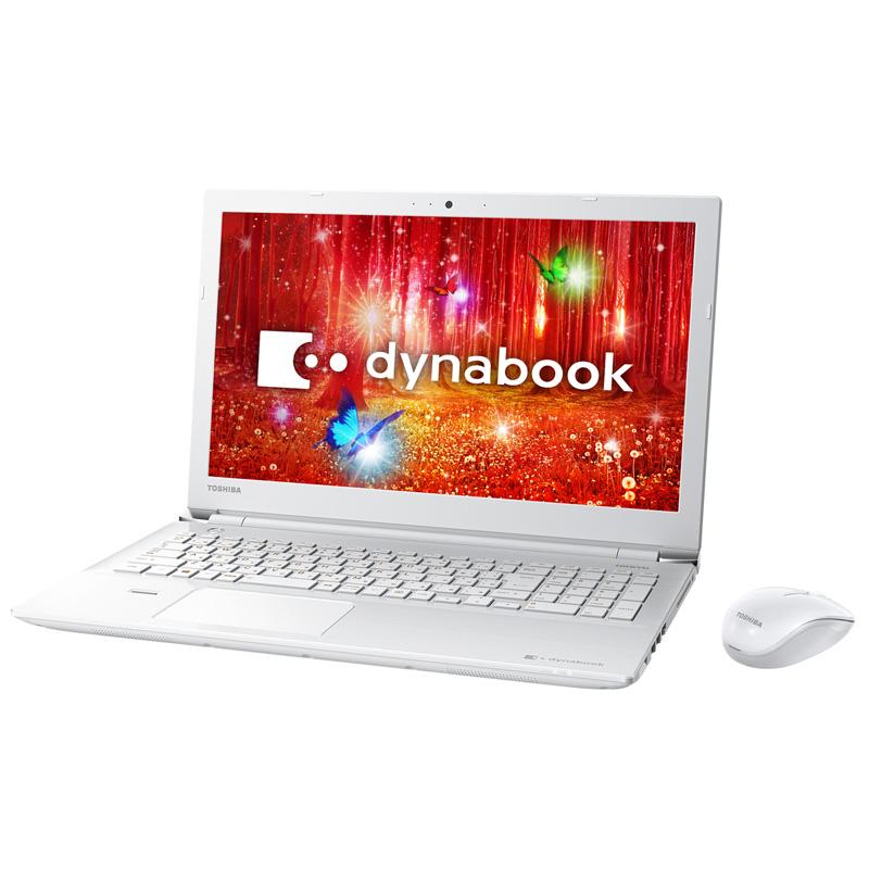 東芝 dynabook T45/DWSB ( PT45DWS-SJB3 ) Windows 10 15.6インチ フルHD(1920×1080) Core i3-7100U メモリ 4GB HDD 1TB DVDスーパーマルチ Webカメラ Office付き
