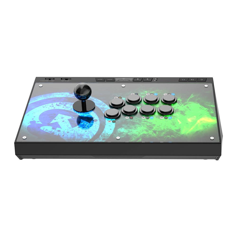 GameSir C2アーケードコントローラーPlaystation4 / Switch / XboxOne / PC / Android 対応 アーケード スティック アケコン c2アーケード ファイトスティック ジョイスティック