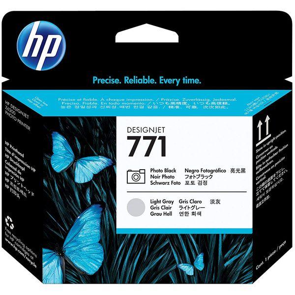 HP ( ヒューレットパッカード ) HP771 プリントヘッド フォトブラック /ライトグレー ( CE020A )
