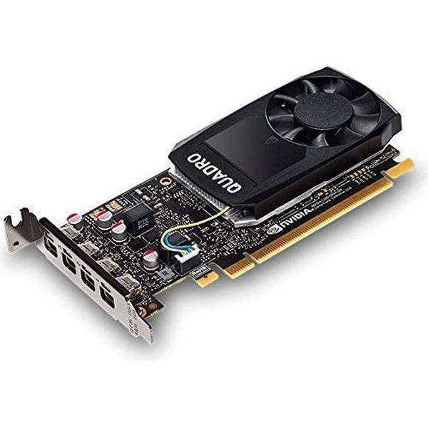 HP NVIDIA Quadro P1000 グラフィックスカード (PCI Express) 1ME01AA