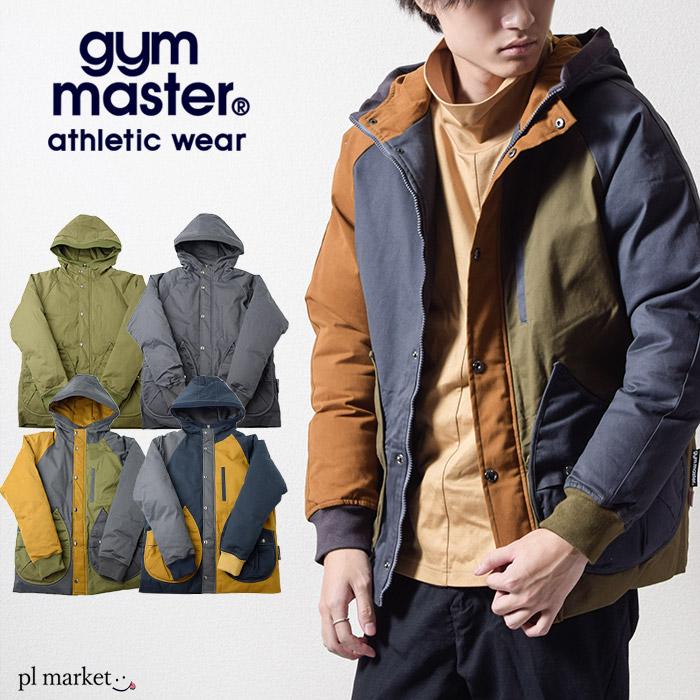 ◆ジムマスター THERMOLITE GYM MASTER 【ドロップポケットマウンテンパーカー】 サーモライト中綿ジャケット G157687 クレイジー マンパー パーカー