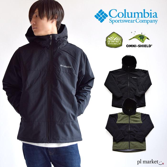 Columbia コロンビア LABYRINTH CANYON JACKET ラビリンス キャニオン ジャケット / メンズ アウター 中綿ジャケット ナイロンジャケット マウンテンパーカー マンパー 長袖 アウトドア PM3787