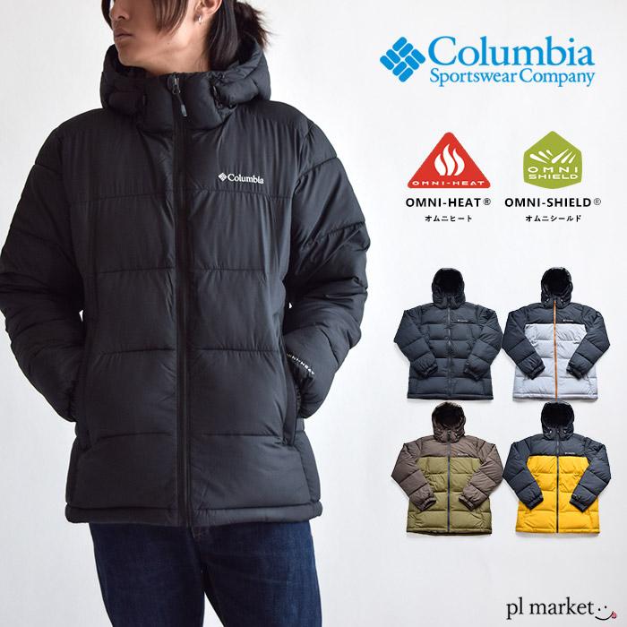 【2019秋冬新作】コロンビア Columbia メンズ パイクレーク フーデッド ジャケット WE0020 1809 中綿 アウター 上着 PIKE LAKE HOODED JACKET