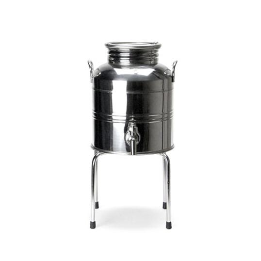 "Oil Drum ""5L""Stainless Steel Stand ""5L""Setステンレス製ディスペンサーウォーターディスペンサーキッチン用品インテリアスタンドセット販売送料無料"