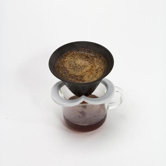 多孔陶瓷廚房供應瓷器內部禮品贈品 224 瓷的咖啡帽子白色陶瓷咖啡篩檢程式