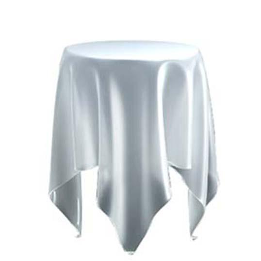 essey Illusion Iceテーブルスクロスを広げたかの様なやわらかなフォルムのサイドテーブルハンドメイドテーブルお取り寄せ商品デザイナーズ家具送料無料インテリア