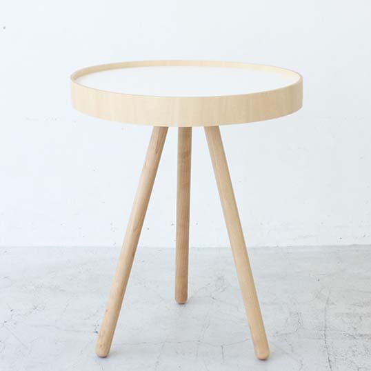 MOHEIMBY TRAY TABLE (ホワイト)サイドテーブルデザイナーズ家具インテリア送料無料リビングキッチントレーをサイドテーブルとして使えるBY TRAY TABLE