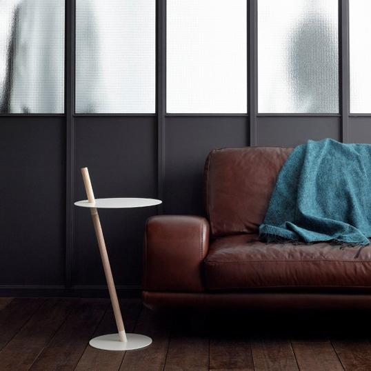 DUENDE/デュエンデ TUBE&ROD White Blackサイドテーブル軽家具デザイナーズ家具インテリア送料無料リビング 寝室
