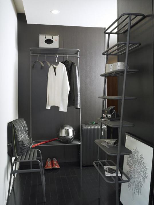 DUENDE/デュエンデ WALL HANGER WHITE / GREY /ウォールハンガーハンガーラックデザイナーズ家具壁に立てかけるタイプ送料無料