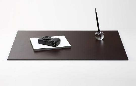 Leather Desk Mat【レザーデスクマット】 ブラック ダークブラウン送料無料ステーショナリーインテリア