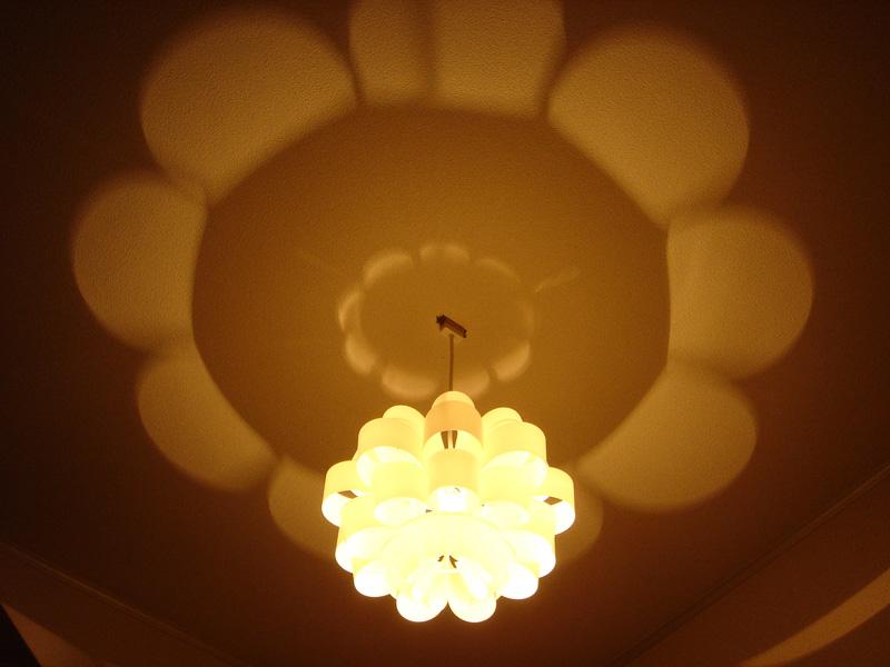 P.P.SHADE DON2 どん2 天井照明 照明作家 谷俊幸 ポリプロピレンデザイナーズ照明インテリア送料無料ミッドセンチュリーテイストリビングダイニング玄関