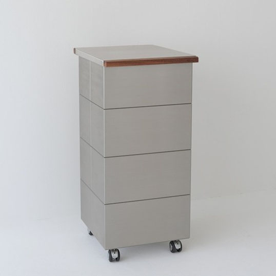 kenner/papperskorgTrash Box PB-2N(シングルタイプ)蓋がステンレス+天然無垢材タイプトラッシュボックス/ゴミ箱(30L×1)PB-2N天然無垢材機能性 耐久性 デザイン性インテリアキッチンリビング