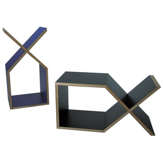 abode DXサイドテーブルブックシェルフ送料無料インテリアデザイナーズ家具リビングベッドサイドカラフルなボディ