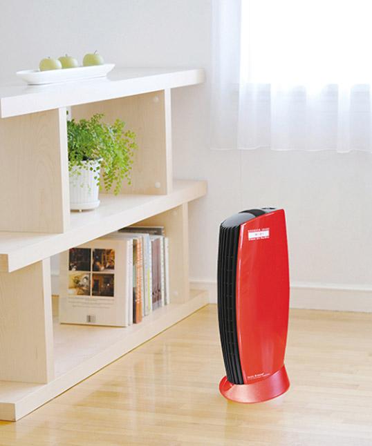 IonicBreeze MIDI ブリリアントレッドデザイン家電空気清浄機交換不要フィルターレス消臭スタイリッシュコンパクト世界一の静かさリビング寝室 玄関送料無料インテリア花粉症対策