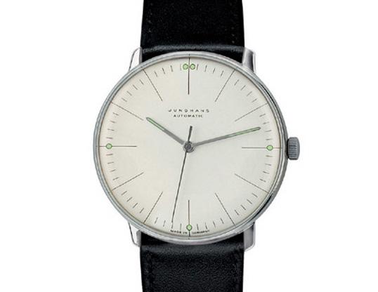 Max bill / マックスビル Automatic Wrist Watch Line White モデル027 3501.00 腕時計 デザイナーズウォッチ ユンハンス ドイツ 受注生産品 送料無料 フォーマル 自動巻ムーブメントバウハウス